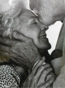 beautiful old married couple