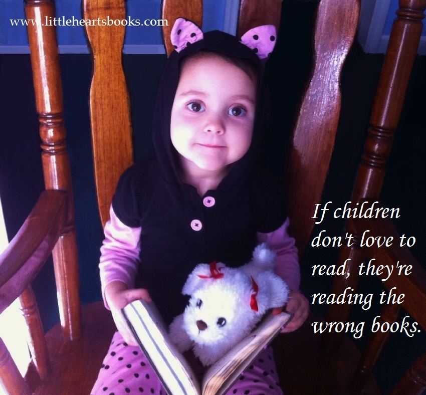 quote if children don't love to read