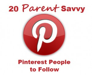 top 20 parent savvy pinterest people