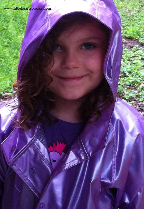 gracie girl raincoat